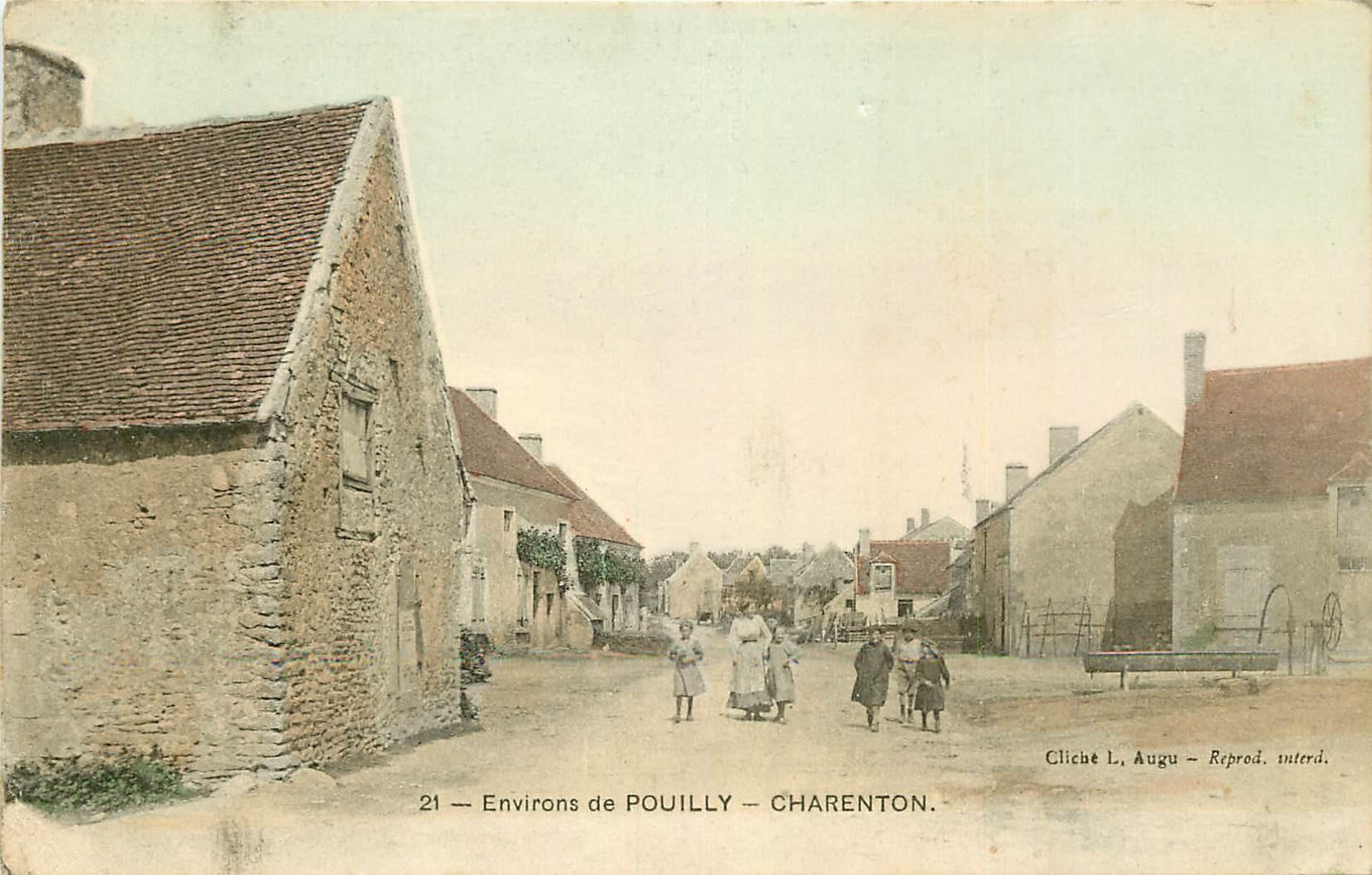58 CHARENTON. Le Village aux environs de Pouilly 1917