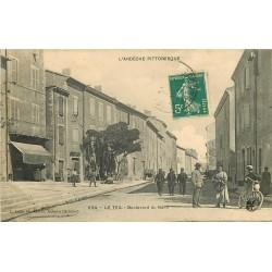 07 LE TEIL. Boulevard du Nord 1911