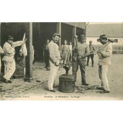 56 PONTIVY. Forge et Forgeron du 2° Chasseurs Militaires 1916