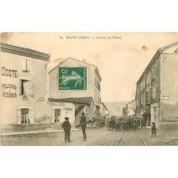 81 SAINT-JUERY. Ramoneurs et écoliers Avenue de l'Usine