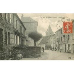 23 ROYERE. Gendarmrie sur la Grande Rue 1917