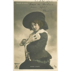 SPECTACLE. Nina d'Asty Chanteuse au Casino de Paris 1904