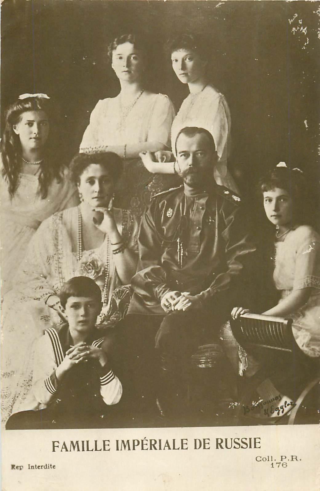 Famille Royale de Russie 1915