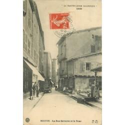 43 BRIOUDE. Rue Savaron et la Tour 1911