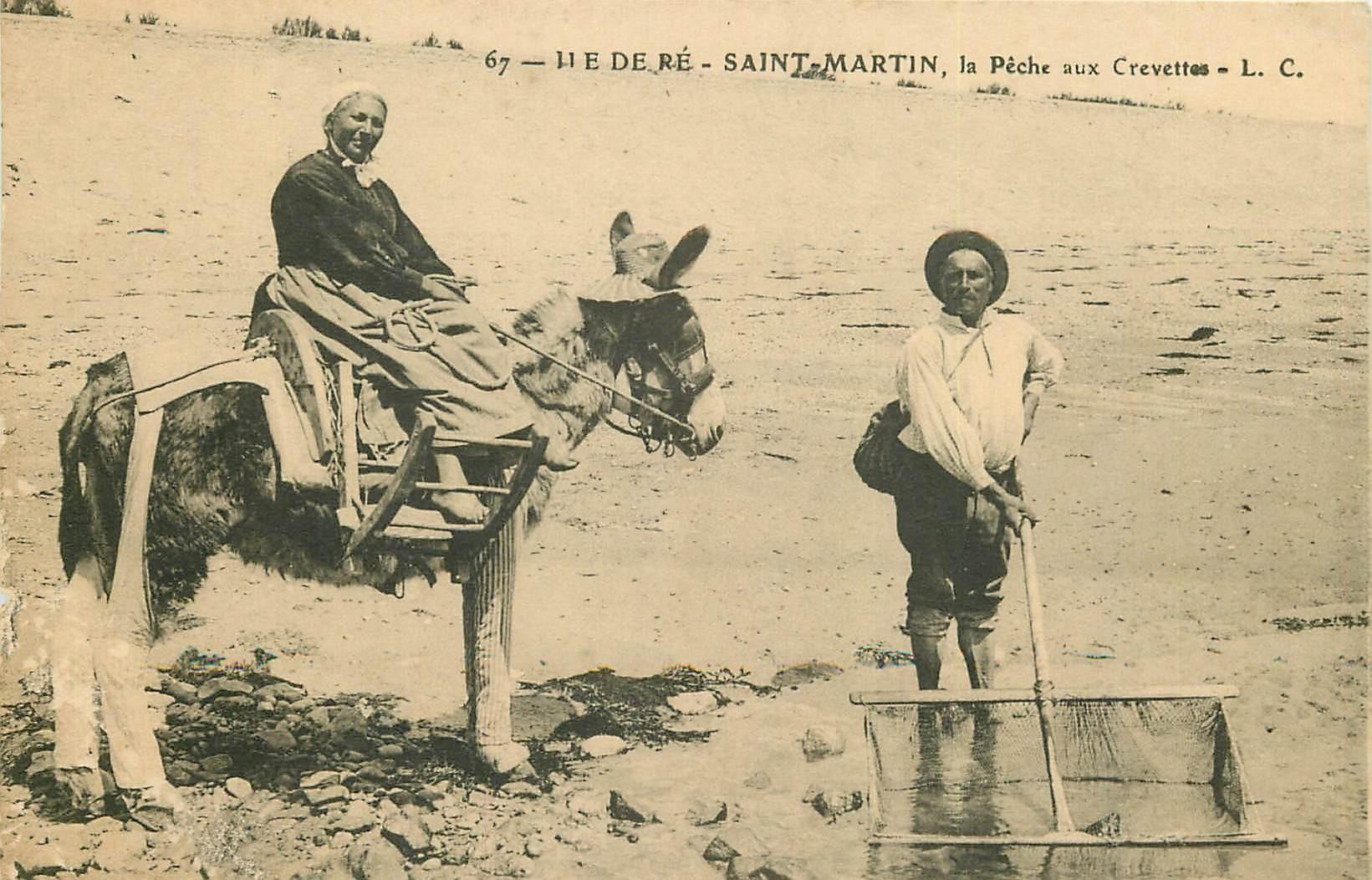 17 SAINT-MARTIN. La Pêche aux Crevettes sur Île de Ré