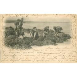 62 BOULOGNE-SUR-MER. Types de Moulières 1901