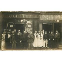 PARIS. Commerces et Métiers. Salon du Coiffeur, Coiffures et Postiches