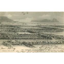 35 CANCALE. Les Parcs à Huîtres 1907