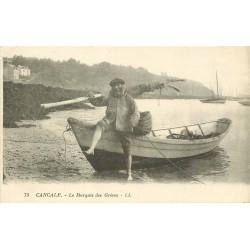35 CANCALE. Le Marquis des Grèves Pêcheur 1926