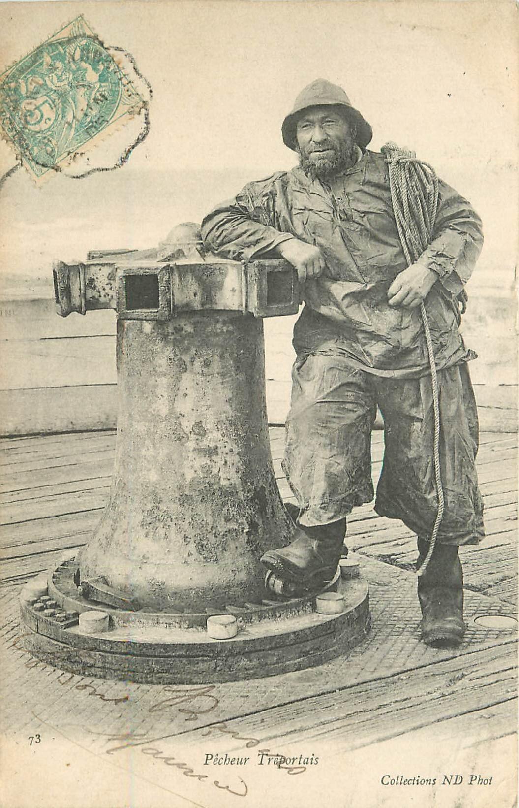 76 LE TREPORT. Pêcheur Tréportais 1905