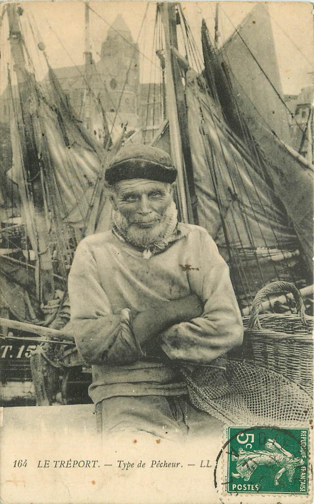 76 LE TREPORT. Type de Pêcheur 1912