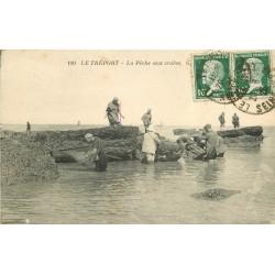 76 LE TREPORT. La Pêche aux Crabes 1925