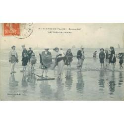 76 LE TREPORT. La Pêche aux Crabes et Crevettes revenue bredouille