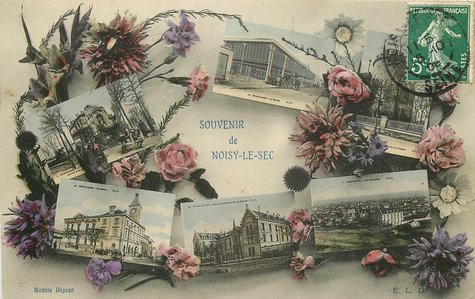 93 NOISY-LE-SEC. Multivue 1908