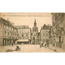 70 GRAY. Banque Société Générale Place du Marché 1917