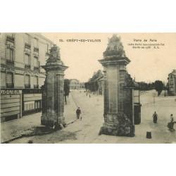 60 CREPY-EN-VALOIS. Banque Société Générale Porte de Paris 1918
