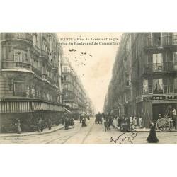 PARIS VIII. Banque Société Générale rue de Constantinople 1908