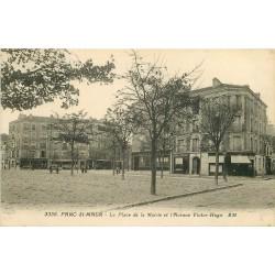 94 SAINT MAUR DES FOSSES. Place Mairie et Avenue Victor Hugo Banque Société Générale 1935