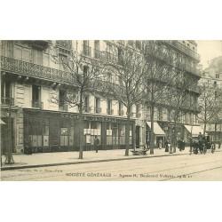 75 PARIS XI. Banque Agence Société Générale Boulevard Voltaire