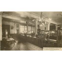 71 CHALON-SUR-SAONE. Guichets de la Banque Société Générale au 14 Boulevard de la République 1920