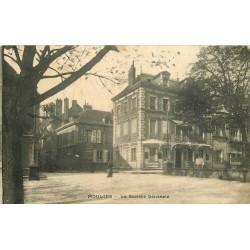03 MOULINS. Banque Société Générale timbre taxe 1914