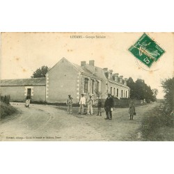 37 LOUANS. Groupe Scolaire 1912
