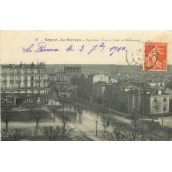 94 NOGENT SUR MARNE LE PERREUX 1910 Gare et Banque Société Générale