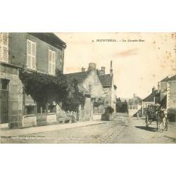 89 MONTREAL. Attelage sur la Grande Rue 1908