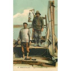 62 BERCK PLAGE. Types de Pêcheurs 1913