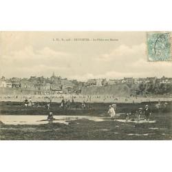 62 LE PORTEL. La Pêche aux Moules 1906