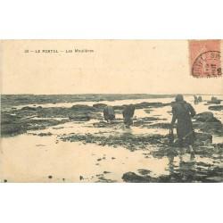 62 LE PORTEL. Les Moulières 1906