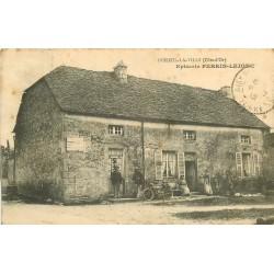 21 POISEUL-LA-VILLE. Epicerie Perrin Lejonc 1912