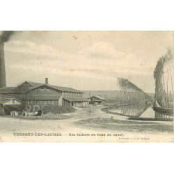 21 VENAREY-LES-LAUMES. Une Tuilerie au bord du Canal 1905