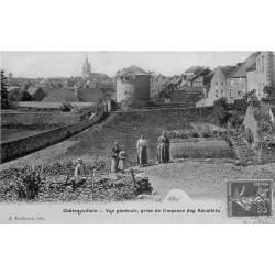 52 CHATEAUVILLAIN. Vue Impasse des Récollets 1908
