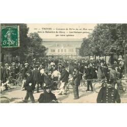 sur fortunapost.com 10 TROYES. Concours de Pêche Ballatière de Clérey 1907 carte postale ancienne