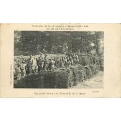 MILITARIA. Campagne d'Alsace 1914 la Vie aux Tranchées de 1er ligne