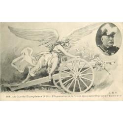 Guerre Européenne 1914. Organisateur de la Victoire et son Canon de 75