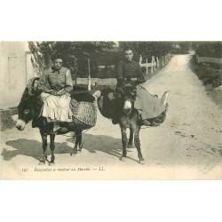 Métier - Marchandes Basquaises se rendant au Marché