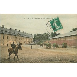 02 LAON. Caserne d'Artillerie 1908