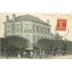 95 CORMEILLES EN PARISIS. Maison Bouland Restaurant Hôtel Avenue de la Gare