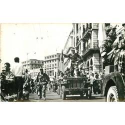 ALGER. Fêtes Indépendance El-Djezair. Armée de Libération Boulevard Carnot