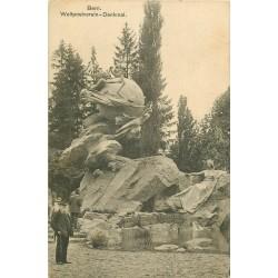 BERN BERNE. Weltpostverein Denkmal 1915