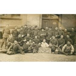 WW 68 MULHOUSE. Photo carte postale célébrant la mort de la Classe du 31° Régiment d'Infanterie