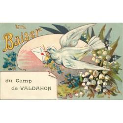 25 CAMP DE VALDAHON. Un Baiser porté par une Colombe 1927