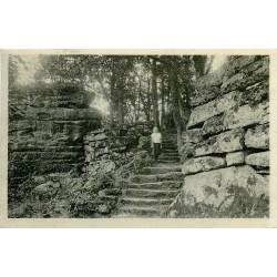 67 MONT SAINTE ODILE. Heidenmauer vers 1948