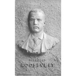 Politique en Scuptogravure Président Roosevelt vers 1900