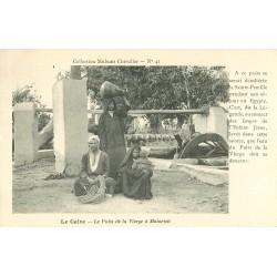 2 Cpa LE CAIRE. Puits Vierge à Matarieh et Camel Corps à Aïn-Chams