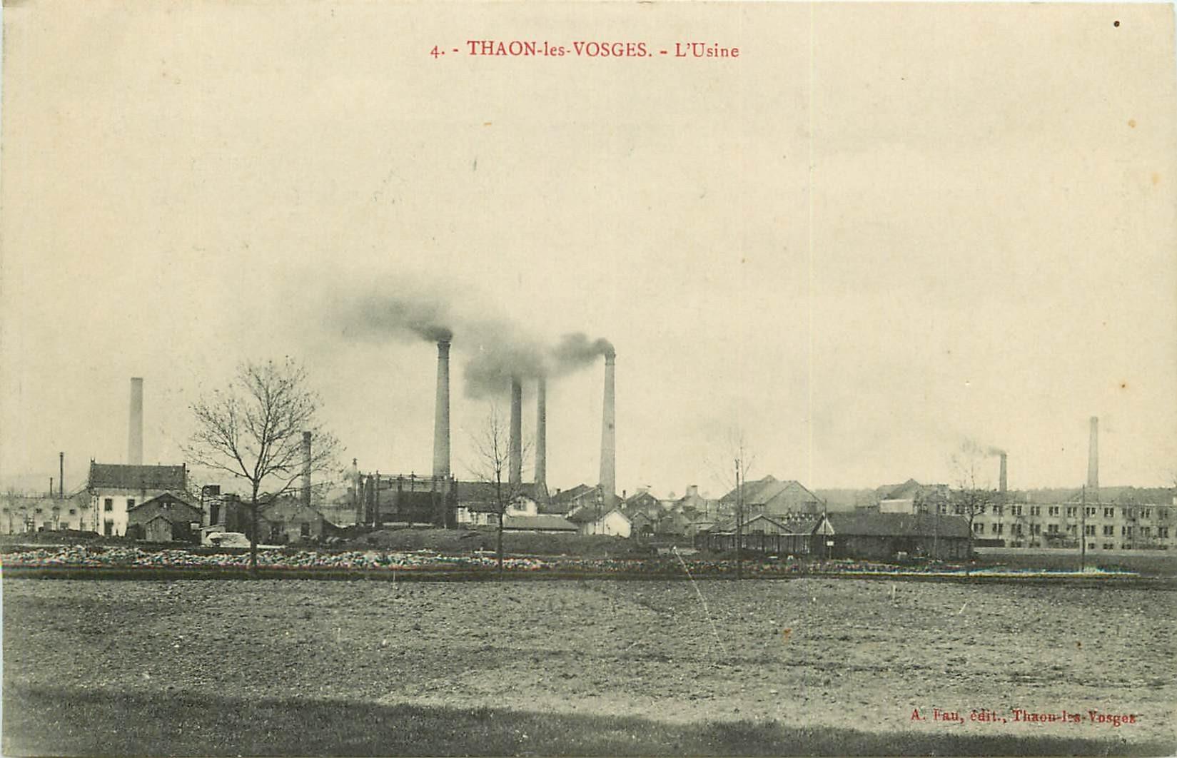 88 THAON-LES-VOSGES. L'Usine