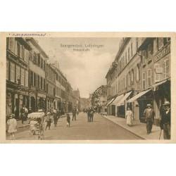 57 SARREGUEMINES SAARGEMÜND Lothringen Kreuzstrasse 1919