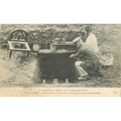 MILITARIA 2 Cpa Guerre 1914. Souterrain de Kronprinz à Villiers-au-Vent et Militaires sûrement Syriens